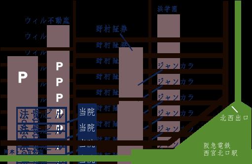 無何有(むかゆう)の周辺地図