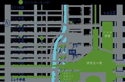 周辺地図(車用)